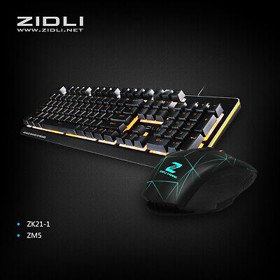Gaming Mechanical Keyboard and Mouse Combo-