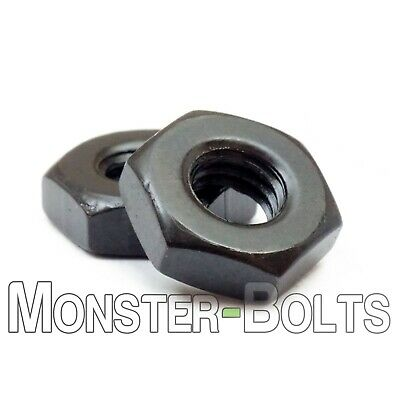 Hex Machine Screw Nuts Steel W Black Oxide - 2-56 4-40 6-32 8-32 10-24 10-32