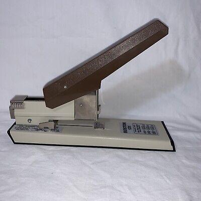 Boston 131 Heavy Duty Commercial Stapler 100 Sheet Capacity Works 73131 Vintage