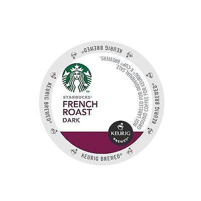 Starbucks, French Roast Coffee, Dark Roast, Keurig K-Cups, 96-Count