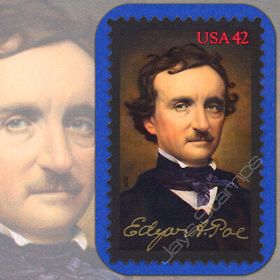 (2009  EDGAR ALLEN POE  Detective-Fiction Literature  MINT Single 42¢ Stamp #4377)