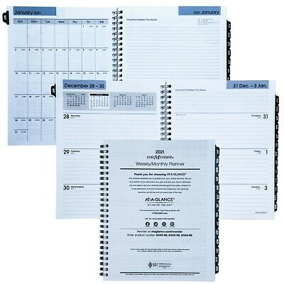 2021 At-a-glance Dayminder G545-50 Refill For G545 Weekly Monthly Planner