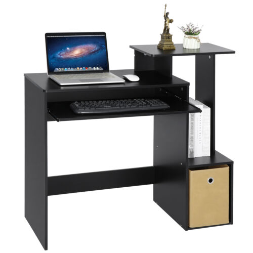 Gaming Table Computer Desk Laptop PC Study Writing Table Home Office Black