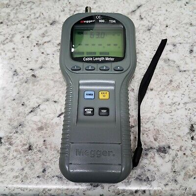 Megger 900 Tdr Cable Length Meter For Testing Power And Communications Cables