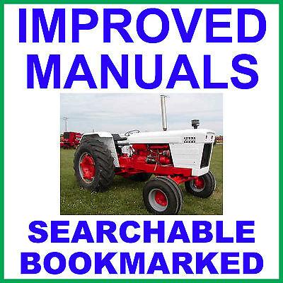 Case David Brown 770 870 970 1070 1090 1170 1175 Tractor Shop Service Manual Cd