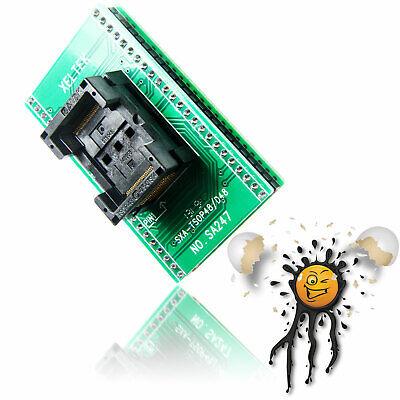 Tsop48 To Dip48 Zif Socket Konverter Modul Programmer Ram Emmc Flash Adapter 05