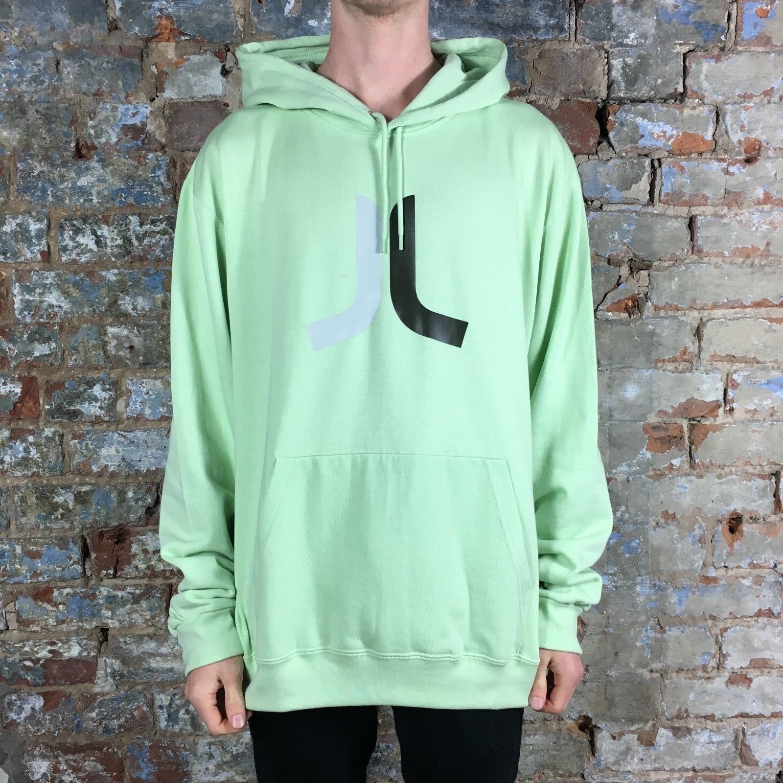 0526bc03 Details about WESC Icon Sweatshirt Pullover Hoodie Brand New - Lime Size:  L,XL