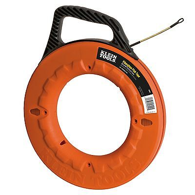 Klein Tools 56009 50 Laser-etched Fiberglass Fish Tape - New - Free Shipping