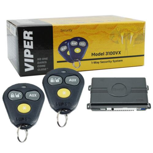 Viper 3100VX Keyless Entry Car Alarm Security System + 2 Remotes
