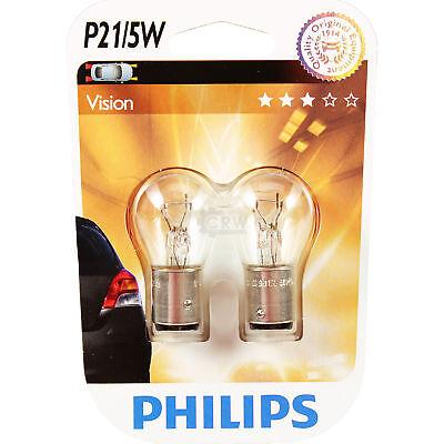 Philips Vision 2st. P21/5W 12V 21/5W BAY15d  Blister Lampe Birne 8 Bay Antenne