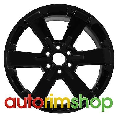 "New 22"" Replacement Rim for GMC Sierra 1500 Wheel Black"