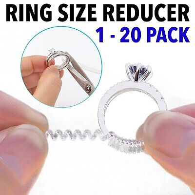 Jewellery - Ring Size Adjuster Reducer Spiral Invisible Snugs Guard Resizer Jewellery Tool
