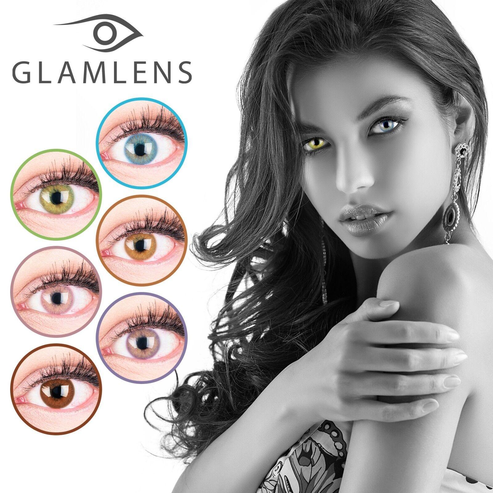 PREMIUM Farbige Kontaktlinsen Silikon Hydrogel SUPER NATÜRLICH 3 MONATSLINSEN