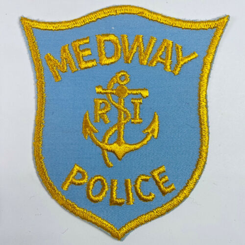 Medway Police Rhode Island RI Patch (A4)