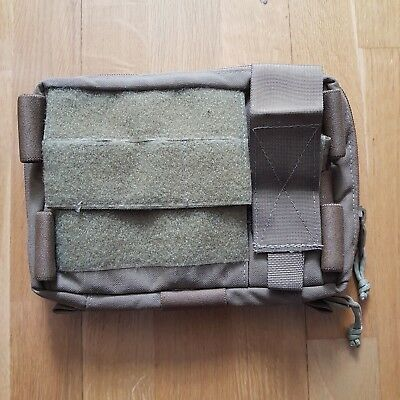 Zulu Nylon Gear Mega Admin Pouch + Map Insert, in Coyote Brown for sale  Shipping to United States