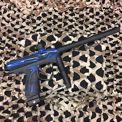 Used  Gog Extcy Paintball Gun Marker   Black Blue