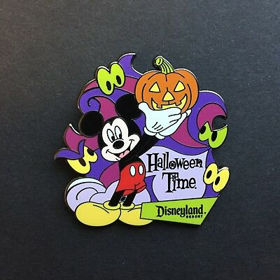 DLR - Halloween Time 2009 Mickey Travel Agent Promo Pin Disney Pin 73468