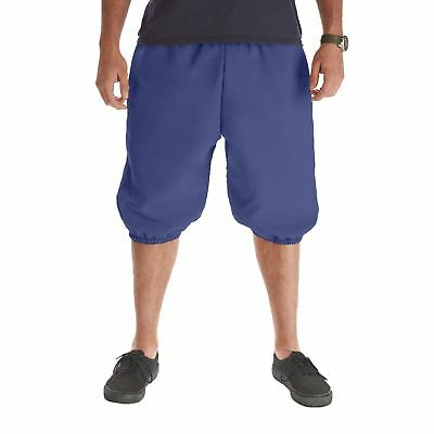 Mens Blue Knicker Pants Old Fashioned Baseball Football Pirate Halloween - Old Fashioned Halloween Costumes