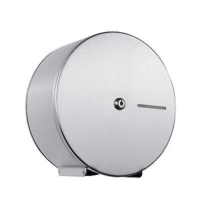 Jumbo Toilet Paper Dispenser Lockable 304 Grade Stainless Steel 9 Or 12