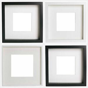 carr photo photo poster cadre avec mat noir blanc 23x23 39 39 50 x 50 39 ribba ebay. Black Bedroom Furniture Sets. Home Design Ideas