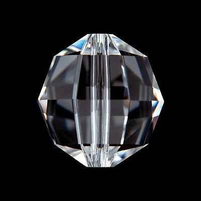 10x Swarovski Perlen 6 - 14mm Kristall SPECTRA® CRYSTAL Perle