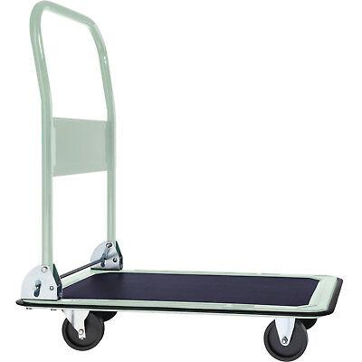 Chariot à plateforme chariot de manutention a transport pliable jusqu'à 150kg