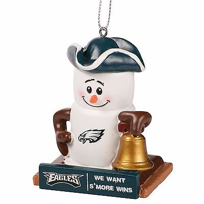 Philadelphia Eagles Smores Christmas Tree Ornament - We Want Smore Wins Thematic