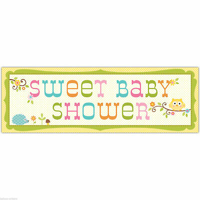 Happi Tree Owl Baby Shower Party Supplies 60