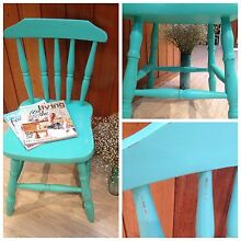 Hand painted chairs Elanora Heights Pittwater Area Preview