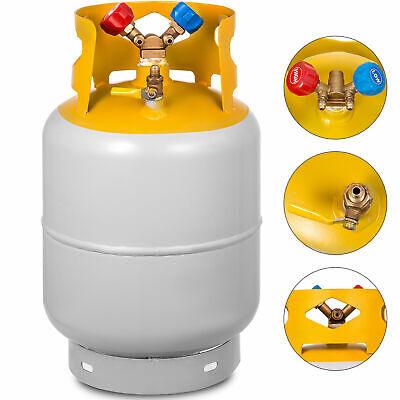 Refrigerant Recovery Reclaim 30lb Cylinder Tank 400 Psi R410a Liquid High Gloss