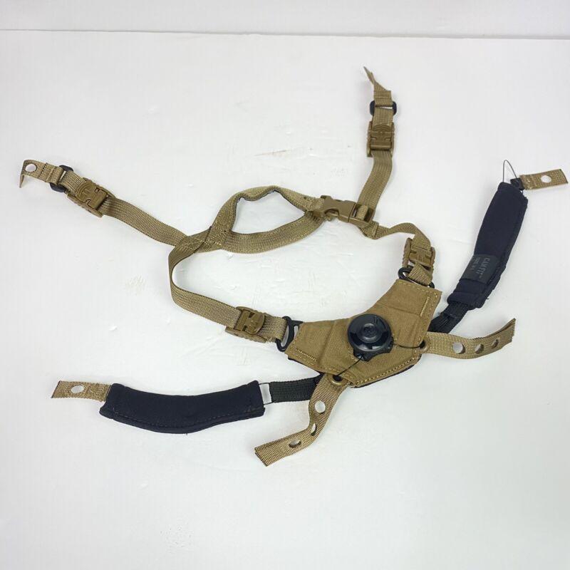 Team Wendy CAM FIT Ballistic Helmet Retention System Coyote Brown M/L ACH ECH