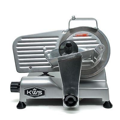 Kws Premium Commercial 200w Electric Meat Slicer 6 Frozen Meat Deli Slicer