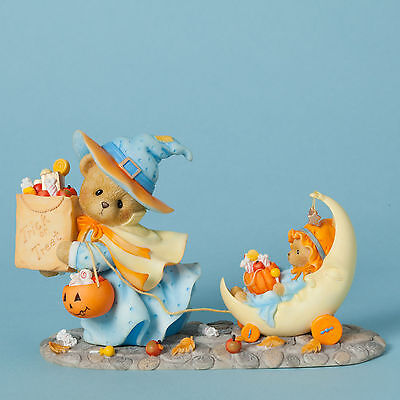 Cherished Teddies*TRICK OR TREAT WITCH BEAR*New*HALLOWEEN*Connie & Annie*4040453