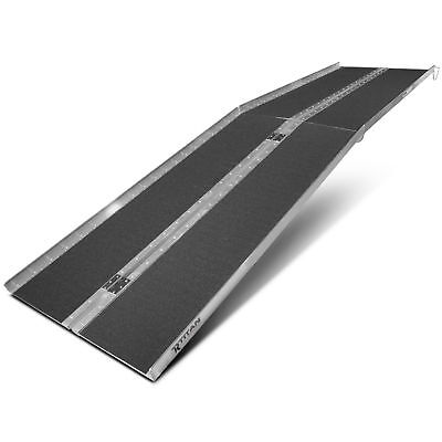 """10' ft Aluminum Multifold Wheelchair Scooter Mobility Ramp portable 120"""" (MF10)"""