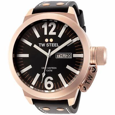 NEW TW Steel Men's CEO Canteen Quartz Watch - CE1022