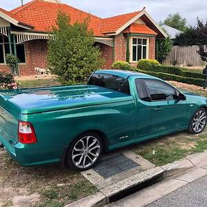 2012 Ford Falcon Ute limited edition xr6 Green Hardlid leather Mount Martha Mornington Peninsula Preview