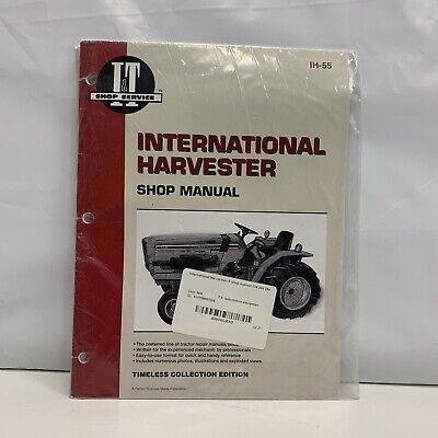 Ih International 244 254 234 Tractor Service Shop Manual Diesel Compact T472