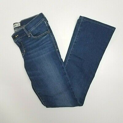 Girls Abercrombie & Fitch Kids Dark Blue Stretch Jeans Sz 16 Boot