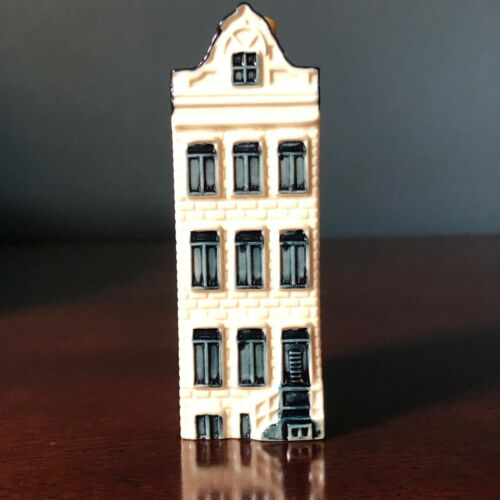 KLM BOLS House #58 Blue Delft Ceramic | 2002 Issue ~ Evaporated/Empty