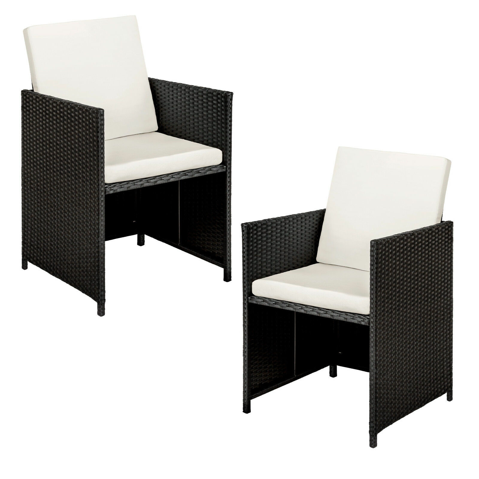 alu poly rattan sitzgruppe lounge rattanm bel. Black Bedroom Furniture Sets. Home Design Ideas