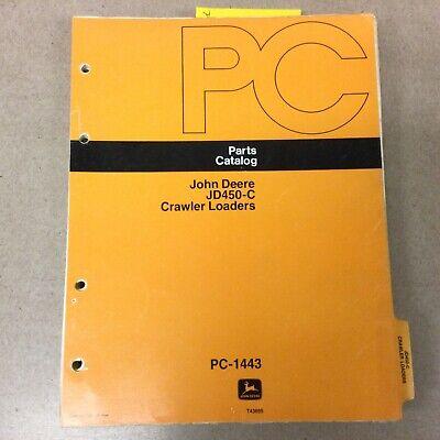 John Deere 450c Parts Manual Catalog Book Crawler Loader Tractor Guide Pc1443