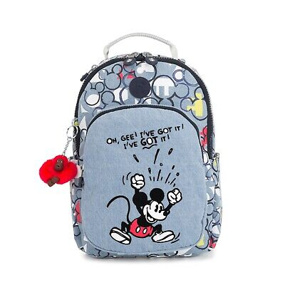 Kipling Small Backpack D SEOUL GO S Disney Mickey THREECHRB2 RRP £135