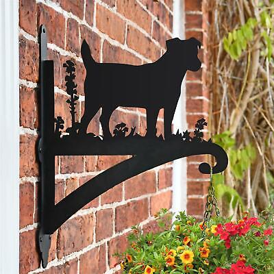 New Jack Russell Iron Hanging Basket Bracket