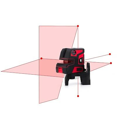 New Leter Automatic Self Leveling 2 Line 5 Point 1v1h Laser Level Lt-303