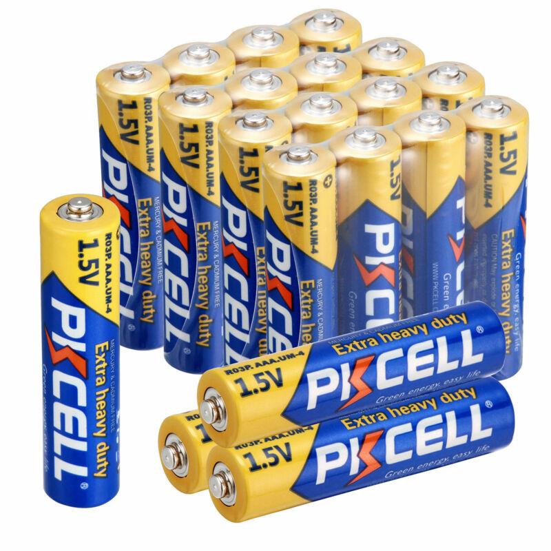 20x AAA Batteries 1.5V R03P UM4 E92 3A Zinc-Carbon Triple A Battery for RC Toys