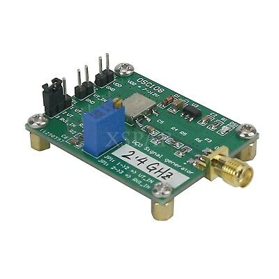 Rf Vco Signal Source Microwave Voltage Controlled Oscillator 2.4g 2300-2485mhz
