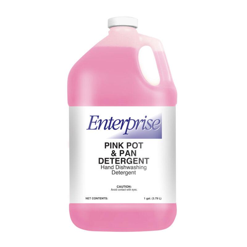 US Chemical Enterprise Pink Pot and Pan Liquid Detergent, 1 Gallon - 4 per case.