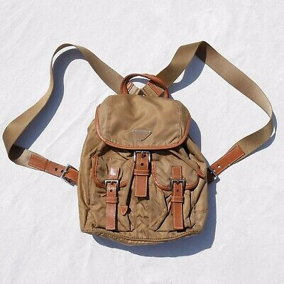 VINTAGE PRADA NYLON BACK PACK
