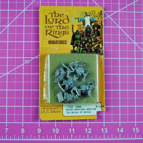 Heritage Lord of the Rings Black Uruk-Hai Orcs, LOTR 25mm Miniatures Mines Moria