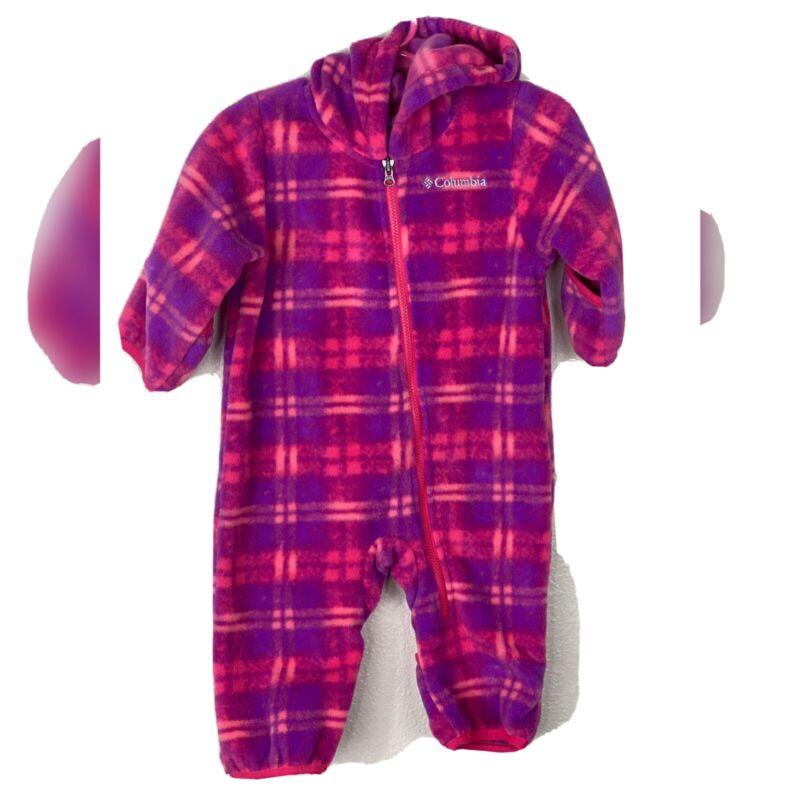 Columbia Baby Girl Fleece Bunting 3-6mo